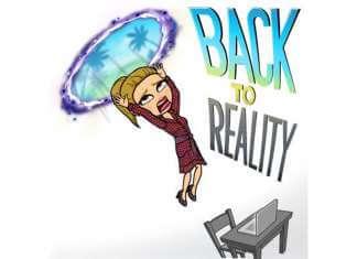 Back to reality - Βουτιά στην ρουτίνα - Anthia.net